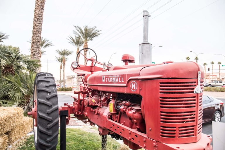 Hash House Las Vegas tractor