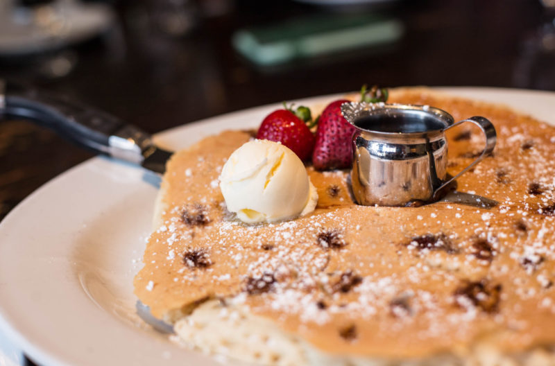 Hash House chocolate chip pancake
